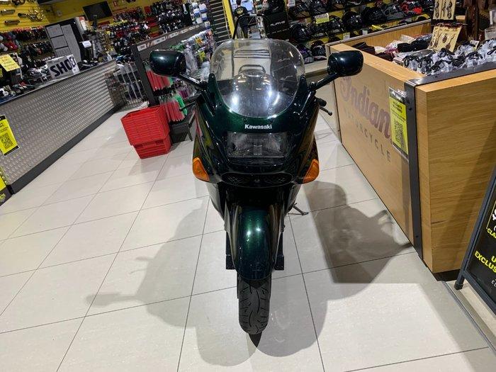 1996 Kawasaki ZZ-R1100 (ZX1100) Black