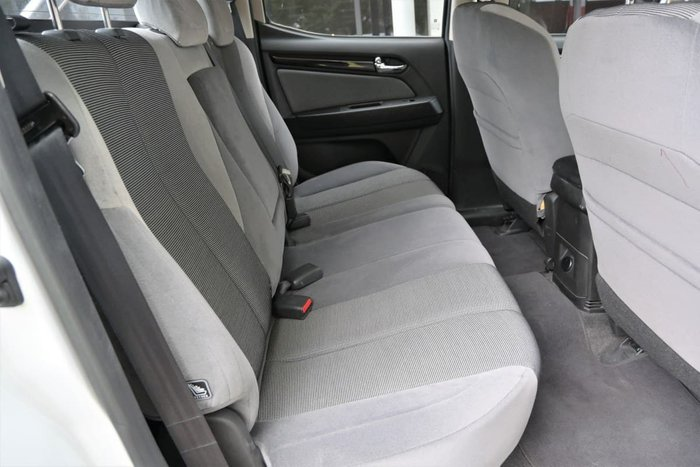 2015 Holden Colorado LTZ RG MY15 4X4 Dual Range Summit White