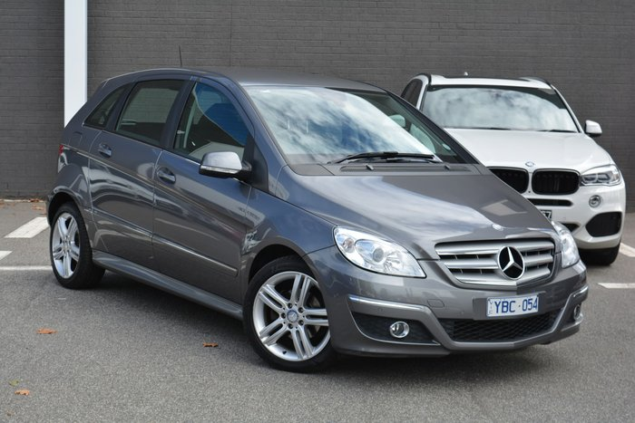 2010 Mercedes-Benz B-Class B180 W245 MY11 Mountain Grey