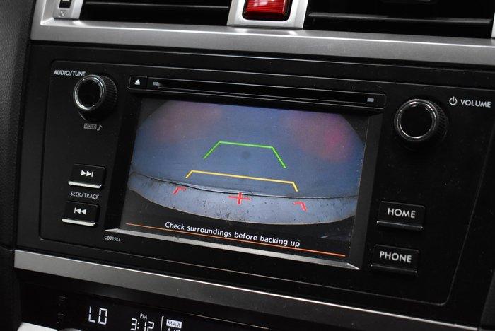 2017 Subaru Outback 2.5i 5GEN MY17 AWD Crystal Black