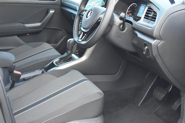 2020 Volkswagen T-Roc 110TSI Style A1 MY21 Black