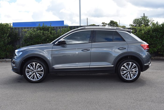 2020 Volkswagen T-Roc 110TSI Style A1 MY21 Black