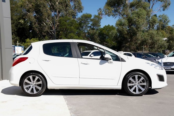 2013 Peugeot 308 Active T7 MY13 Bianca White
