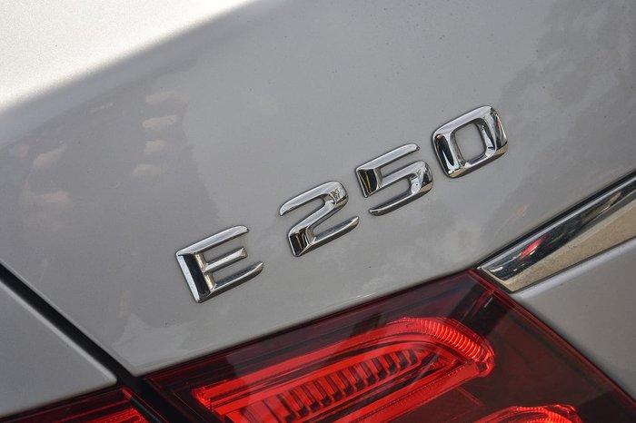 2014 Mercedes-Benz E-Class E250 CDI W212 Silver
