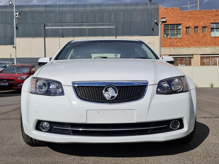 2012 Holden Calais V VE Series II MY12.5 White