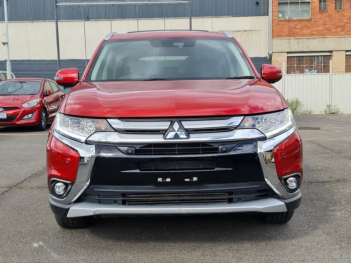 2016 Mitsubishi Outlander Exceed ZK MY17 4X4 On Demand Red