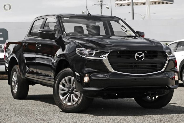 2020 Mazda BT-50 XT TF 4X4 Dual Range True Black