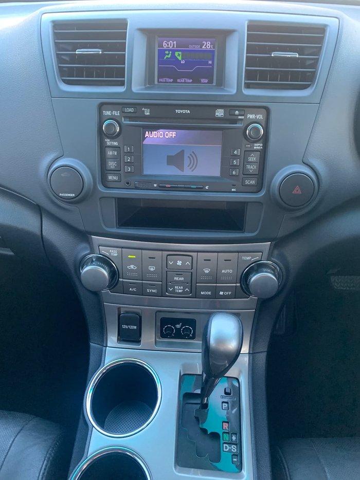 2011 Toyota Kluger KX-S GSU45R MY11 AWD Grey