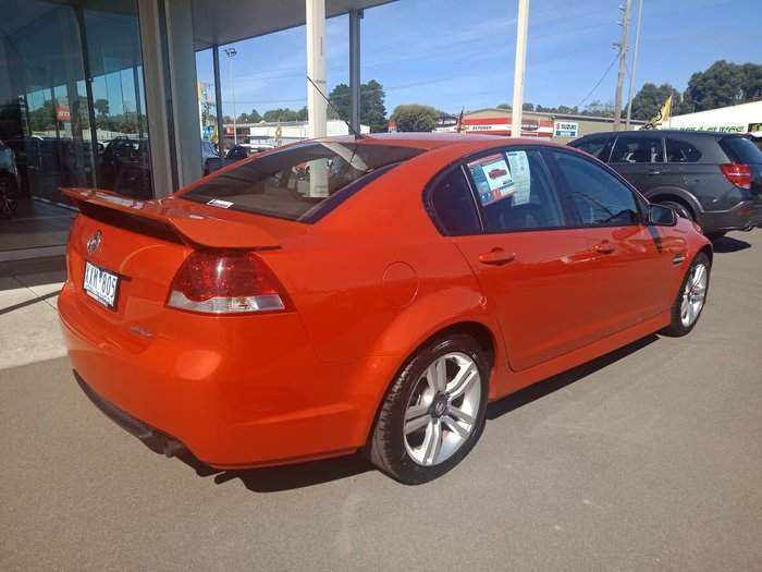 2006 Holden Commodore SV6 VE Orange