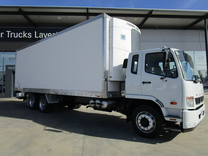 2013 FUSO FIGHTER 2427 SUPER CHILLER-14 PALLET WHITE