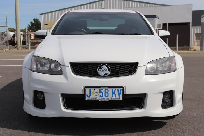 2012 Holden Commodore SV6 VE Series II MY12 White
