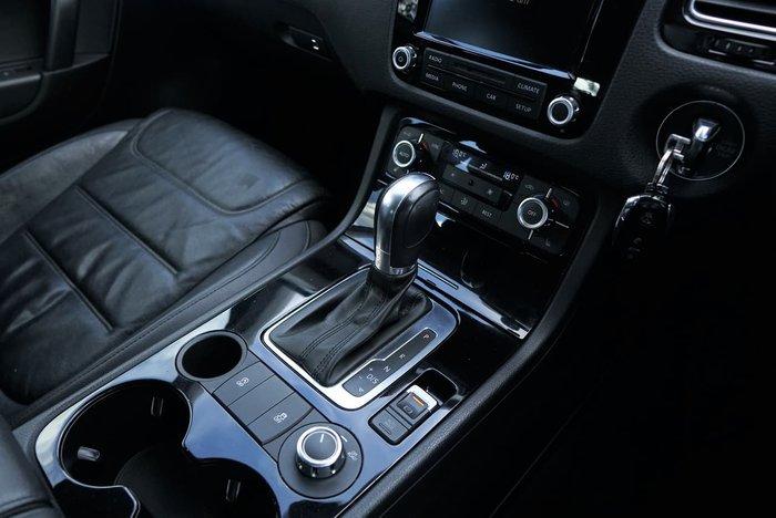 2013 Volkswagen Touareg 150TDI 7P MY13 Four Wheel Drive Grey