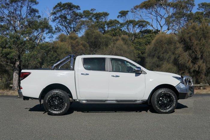 2019 Mazda BT-50 GT UR 4X4 Dual Range White