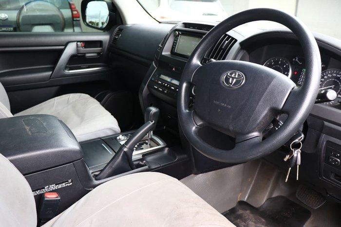 2018 Toyota Landcruiser GX VDJ200R 4X4 Dual Range Onyx Blue