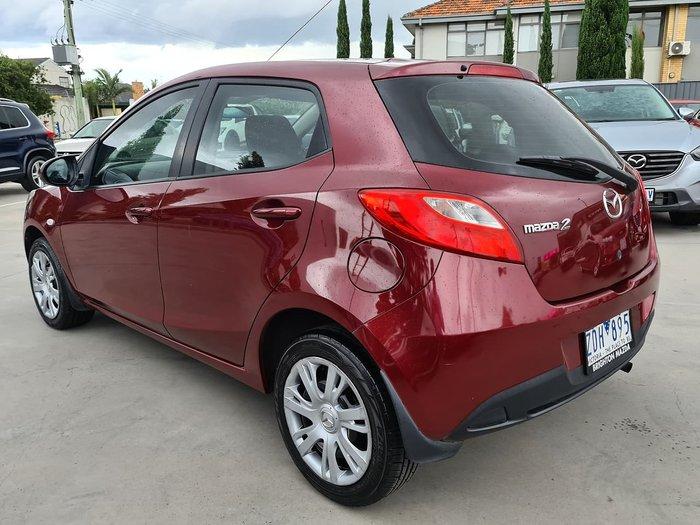 2012 Mazda 2 Neo DE Series 2 MY12 Red