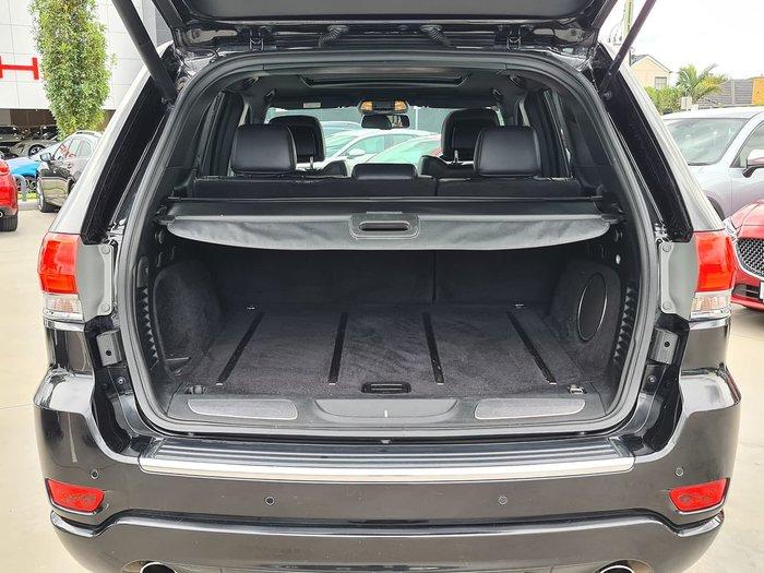 2015 Jeep Grand Cherokee Overland WK MY15 4X4 Dual Range Black