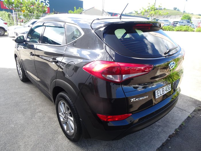 2017 Hyundai Tucson Active TL2 MY18 AWD Phantom Black