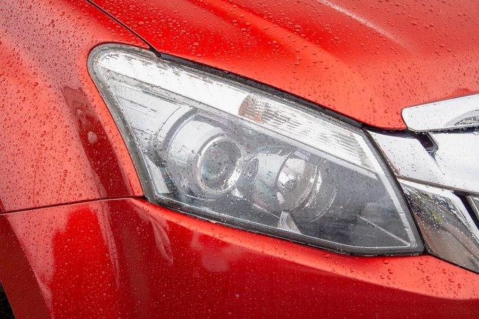 2016 Isuzu D-MAX LS-M MY15.5 4X4 Dual Range Red