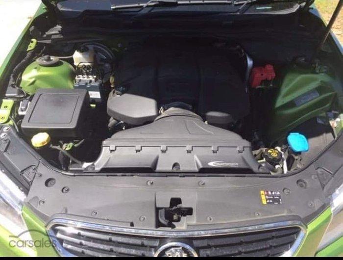 2015 Holden Ute SS V Redline VF MY15 Jungle Green