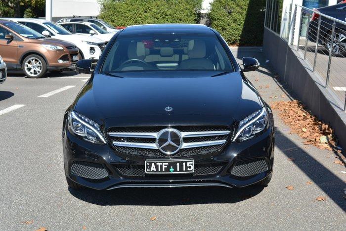 2018 Mercedes-Benz C-Class C350 e W205 Black