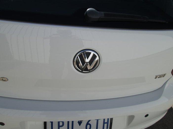 2013 Volkswagen Polo 77TSI Comfortline 6R MY13.5 White
