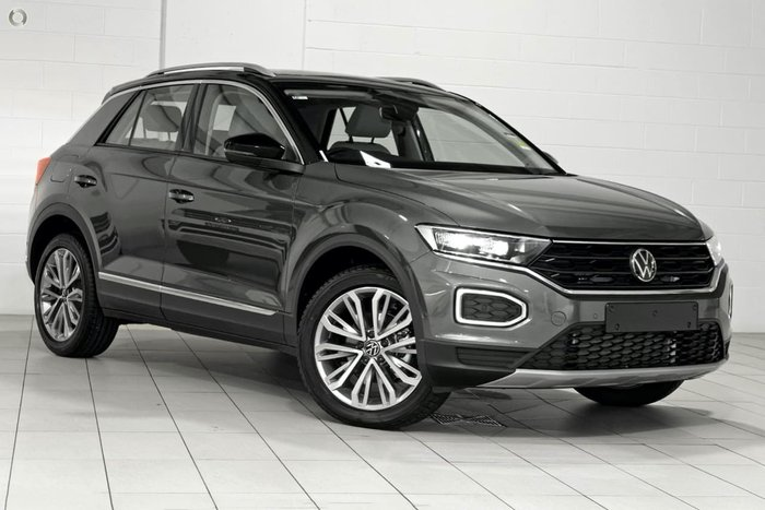 2021 Volkswagen T-Roc 110TSI Style A1 MY21 Black