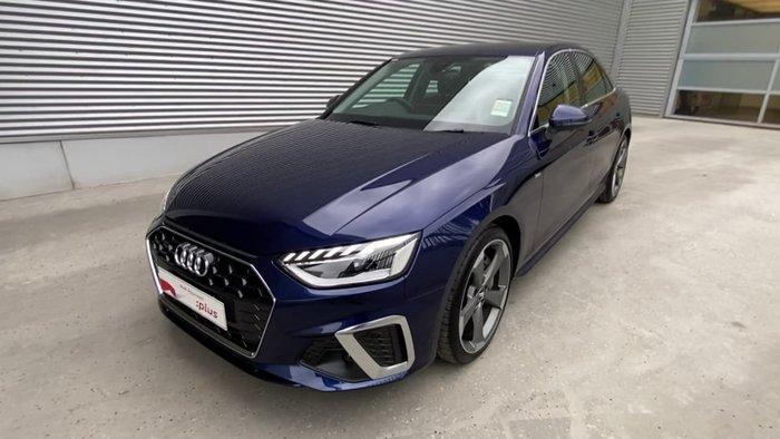 2020 Audi A4 45 TFSI S line B9 MY20 Four Wheel Drive Blue