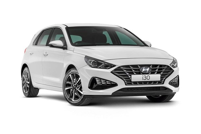 2020 HYUNDAI i30 ELITE PD.V4 i30 HATCH ELITE 2.0P AUTO Polar White Solid