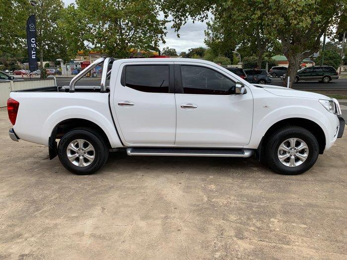 2016 Nissan Navara ST D23 4X4 Dual Range Polar White