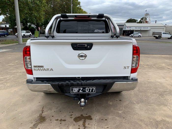 2016 Nissan Navara ST D23 Polar White