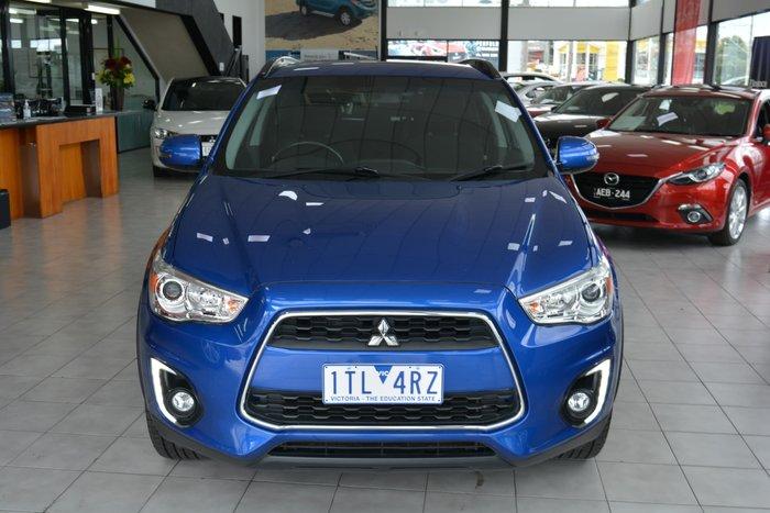 2015 Mitsubishi ASX LS XB MY15.5 Lightning Blue