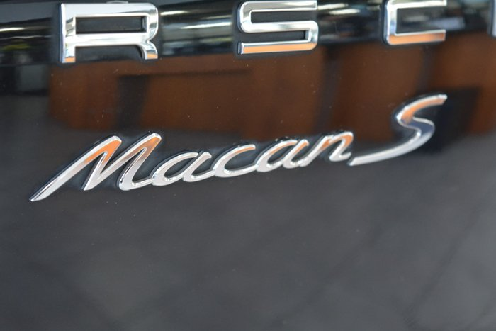 2015 Porsche Macan S Diesel 95B MY16 AWD Jet Black