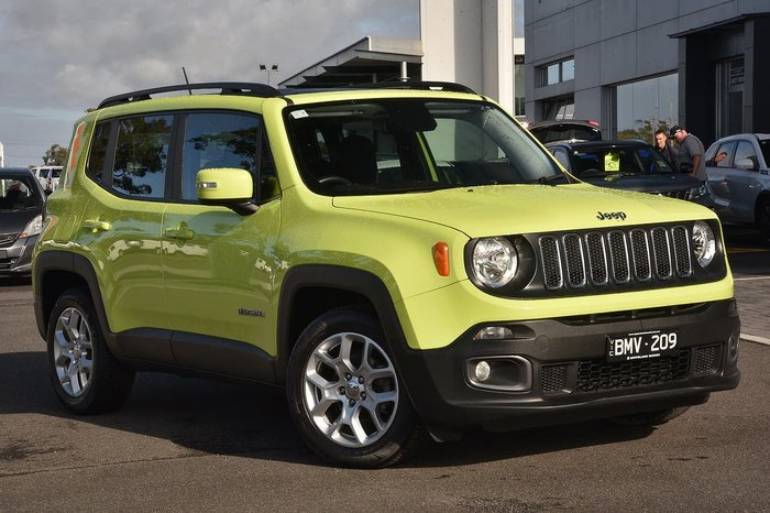 2017 Jeep Renegade Longitude BU MY17 Green