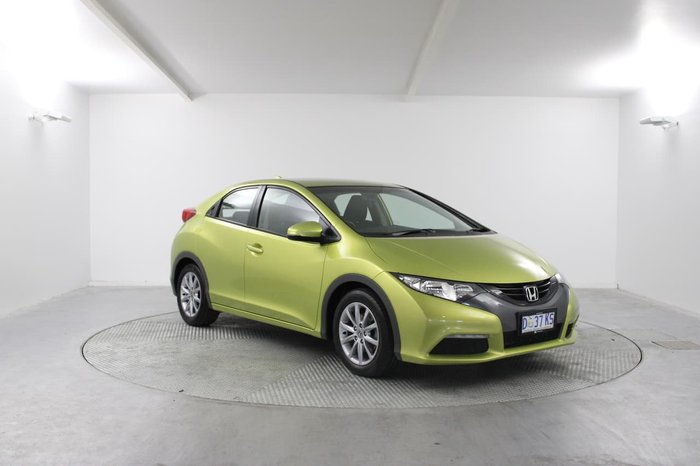 2013 Honda Civic VTi-S 9th Gen MY13 Yellow