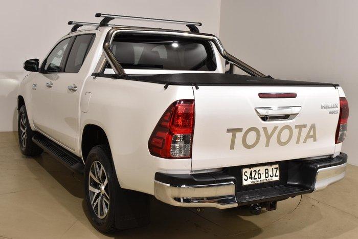 2015 Toyota Hilux SR5 GUN126R 4X4 Dual Range Crystal Pearl