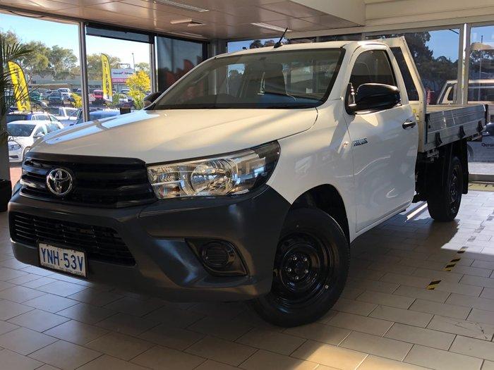2019 Toyota Hilux Workmate GUN122R Glacier White