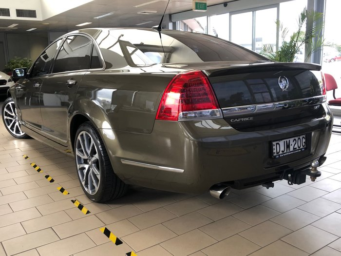 2015 Holden Caprice V WN Series II MY16 Empire Bronze