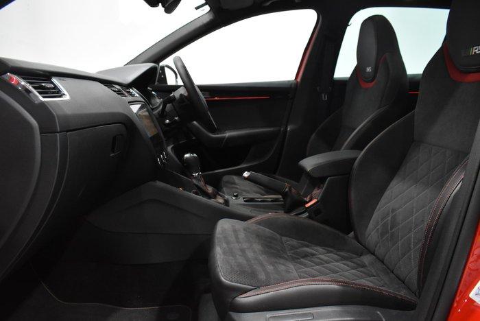 2018 SKODA Octavia RS 245 NE MY18.5 Corrida Red