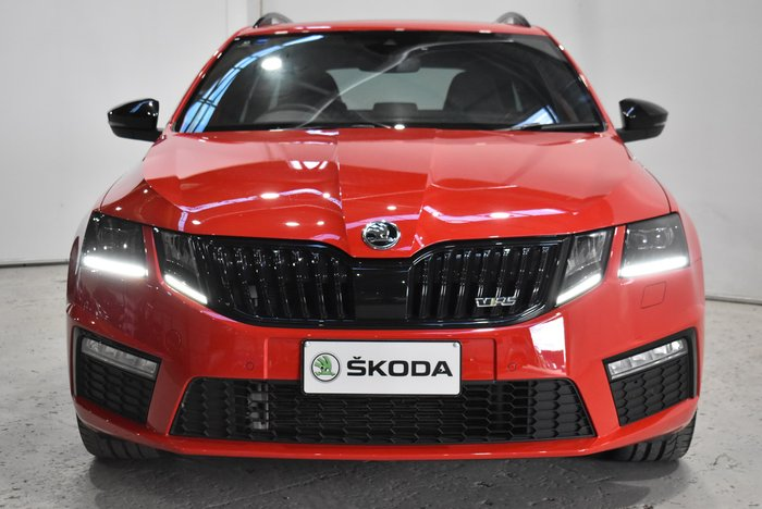 2018 SKODA Octavia RS 245 NE MY18.5 Corrida Red