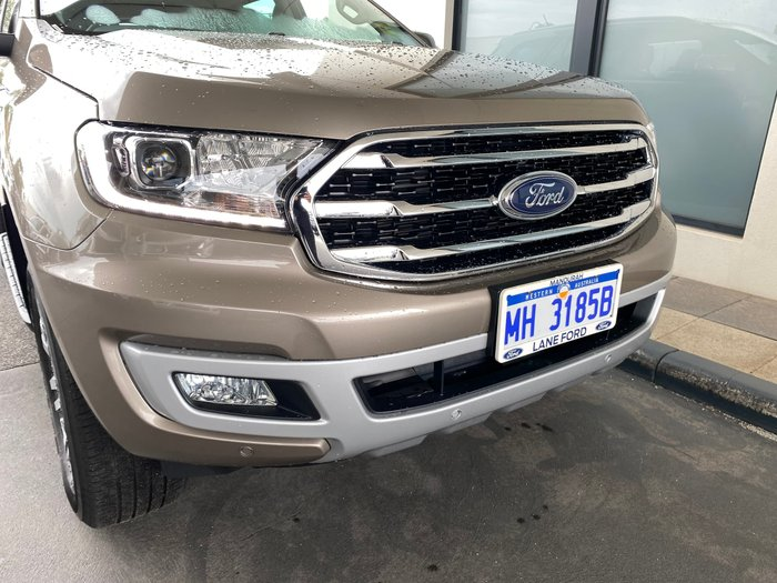 2020 Ford Everest Trend UA II MY20.75 4X4 Dual Range Diffused Silver