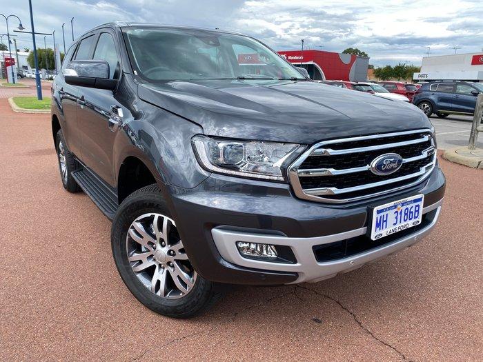 2020 Ford Everest Trend UA II MY20.75 4X4 Dual Range Meteor Grey