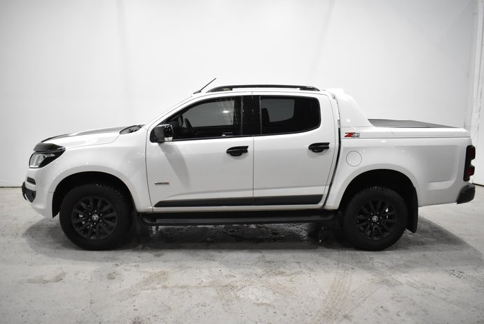 2018 Holden Colorado Z71 RG MY19 4X4 Dual Range Summit White