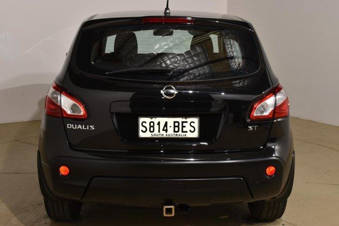 2011 Nissan Dualis ST J10 Series II MY10 Pearl Black