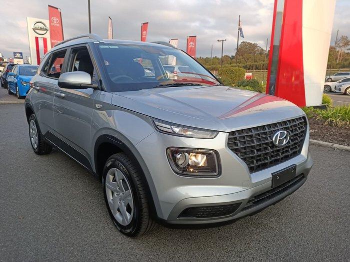 2020 Hyundai Venue Go QX MY20 Silver