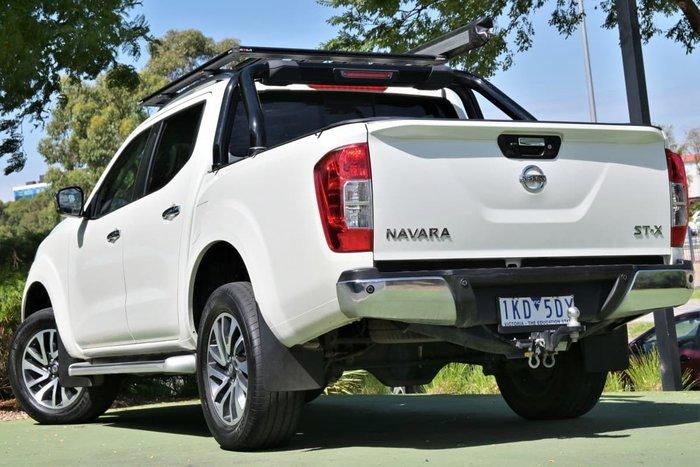 2017 Nissan Navara ST-X D23 Series 2 4X4 Dual Range White Diamond