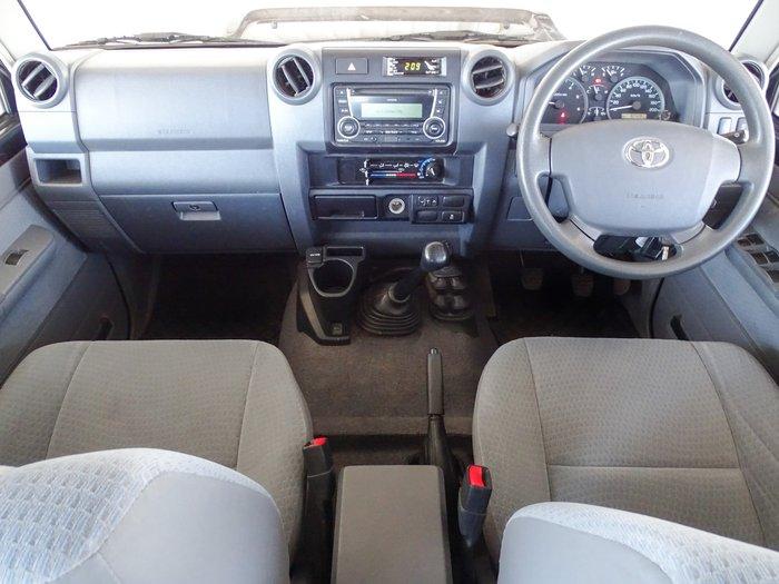 2018 Toyota Landcruiser GXL VDJ79R 4X4 Dual Range Graphite