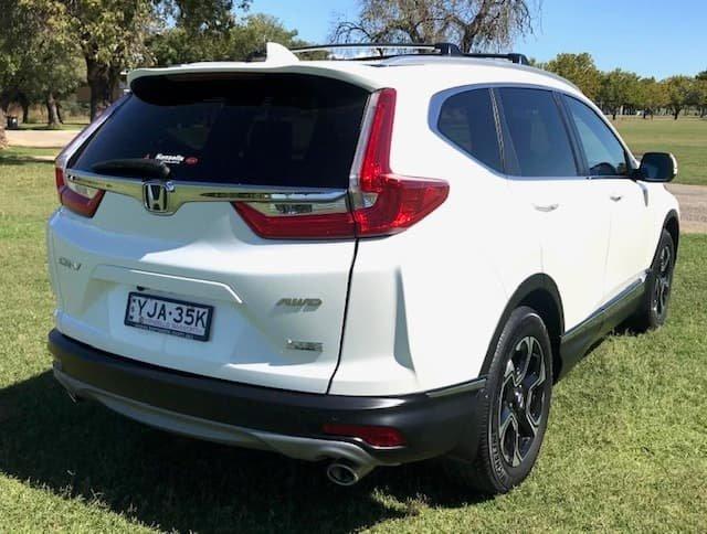 2017 Honda CR-V VTi-LX RW MY18 4X4 On Demand White Orchid