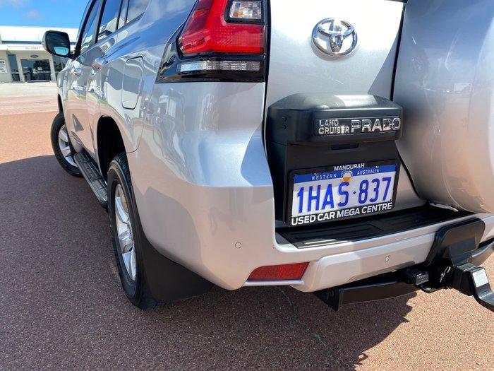 2020 Toyota Landcruiser Prado GXL GDJ150R 4X4 Dual Range Silver Pearl