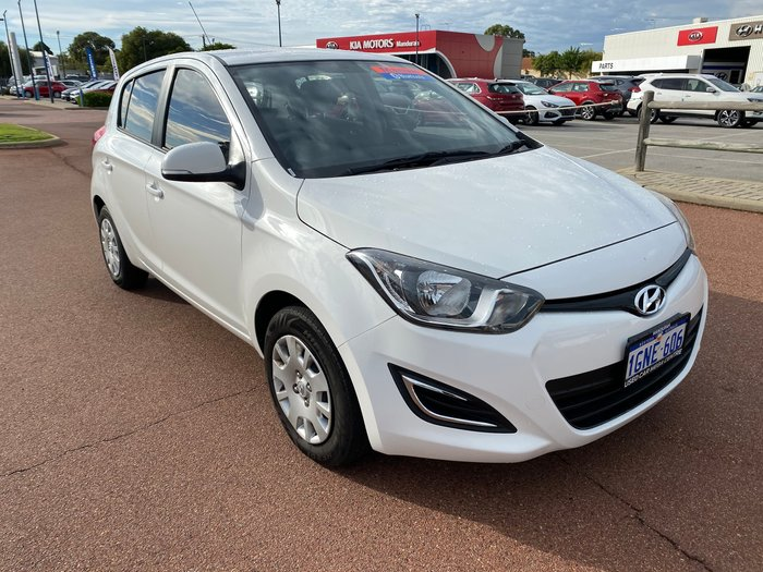 2015 Hyundai i20 Active PB MY15 Polar White