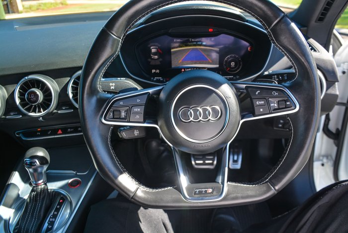 2016 Audi TTS FV MY17 Four Wheel Drive Glacier White